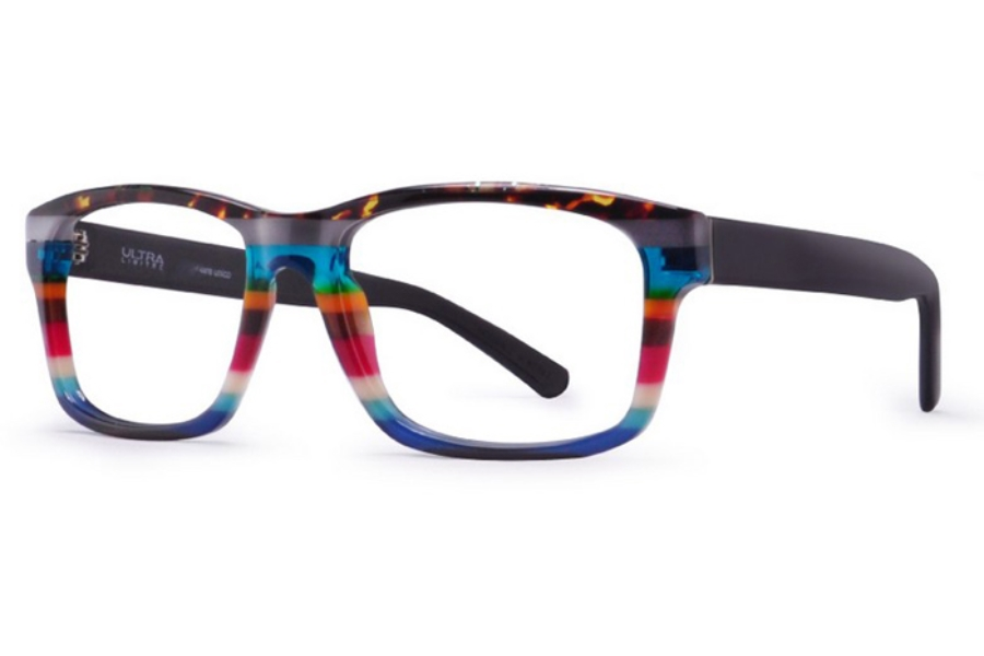 Ultra Limited Roma Eyeglasses in Purple/Blue Pink