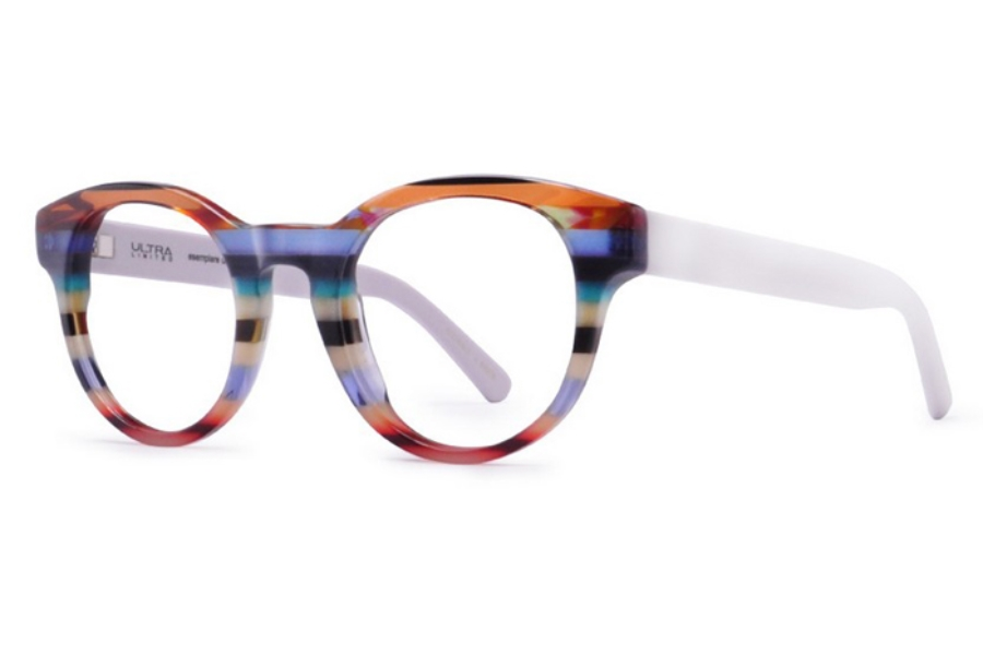 Ultra Limited Treviso Eyeglasses in Purple/White