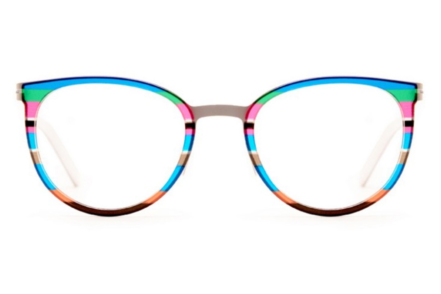 Ultra Limited Trieste Eyeglasses in Blue Green