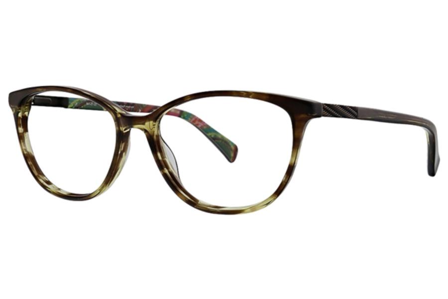 24814f3013 Vera Bradley VB Madison Eyeglasses in Heirloom Paisley ...