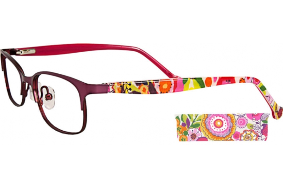 5a2a098e44b Vera Bradley Kids VB Misty Eyeglasses in CLM Clementine ...