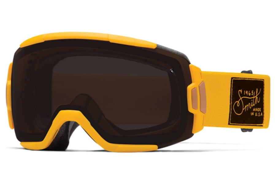Smith Optics Vice Continued I Goggles in REVIVAL - MUSTARD BLACKOUT