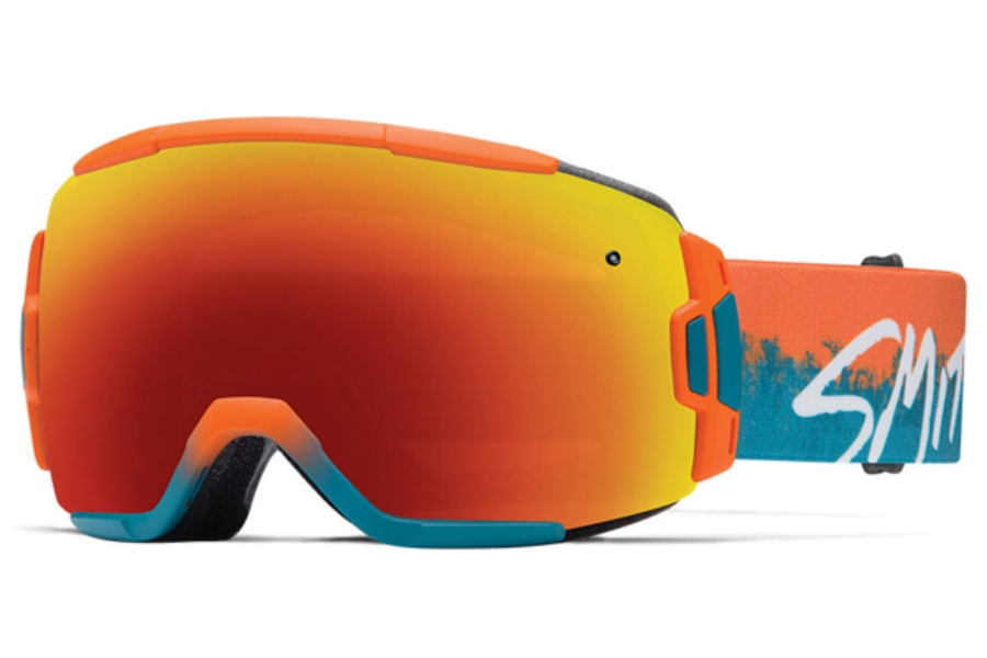 Smith Optics Vice Continued I Goggles in ORANGE KOOK Red Sol-X Mirror
