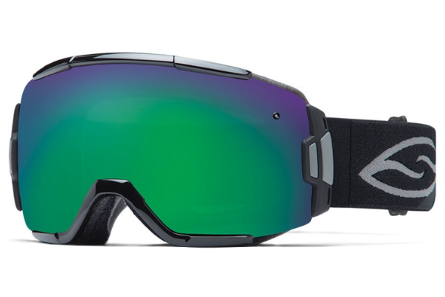 Smith Optics Vice Continued I Goggles in BLACK Green Sol-X Mirror