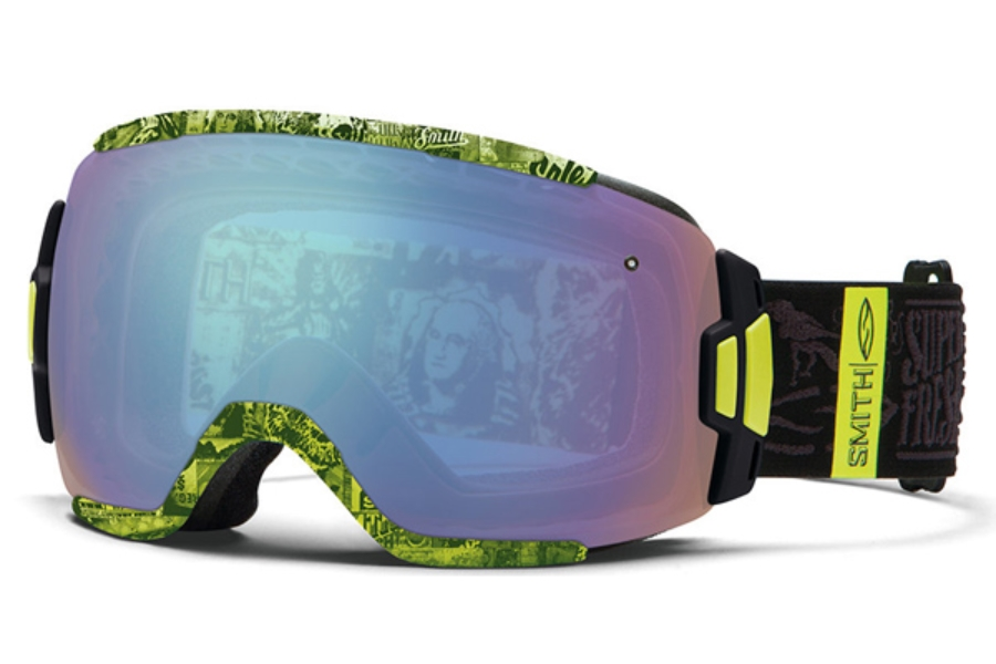 Smith Optics Vice Continued I Goggles in Acid W3 / Blue Sensor Mirror