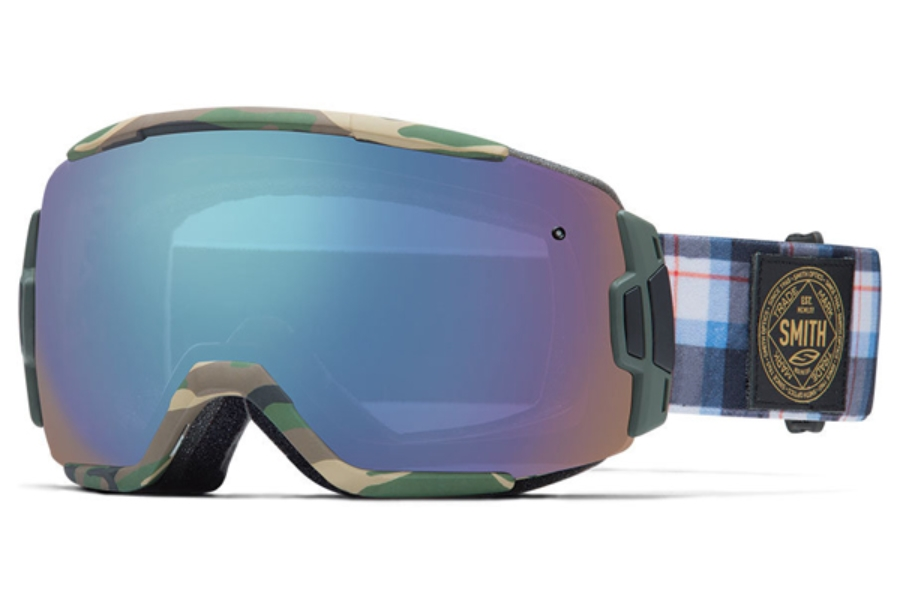 Smith Optics Vice Continued I Goggles in CYPRUS PLAMMO Blue Sensor Mirror