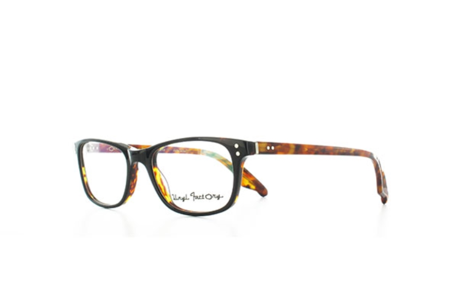 2f530019fac9 ... Vinyl Factory Waters Eyeglasses in C0 Black Tortoise ...