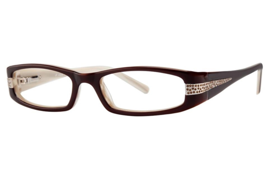Vivid Boutique VIVID Boutique 4009 Eyeglasses in Toffee Cream