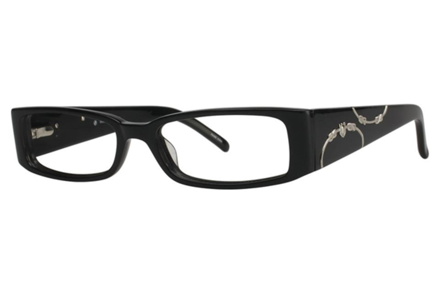 Vivid Boutique VIVID Boutique 4016 Eyeglasses in 111 Black Pearl