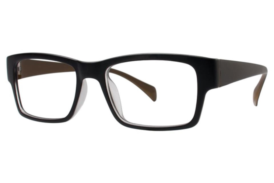 Vivid TR90 224 Eyeglasses in Matte Black