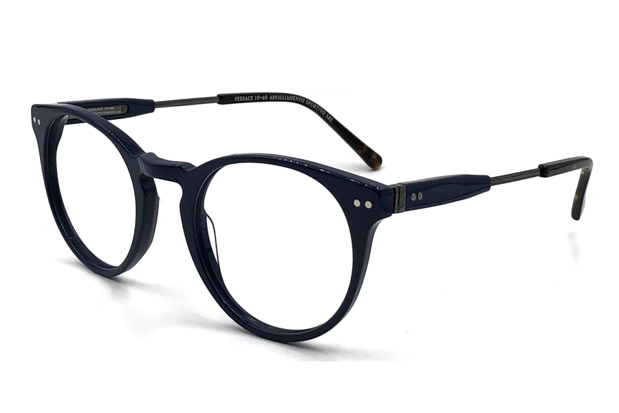 Versace 19-69 VM1712 Eyeglasses in C4 - Blue Demi Gun