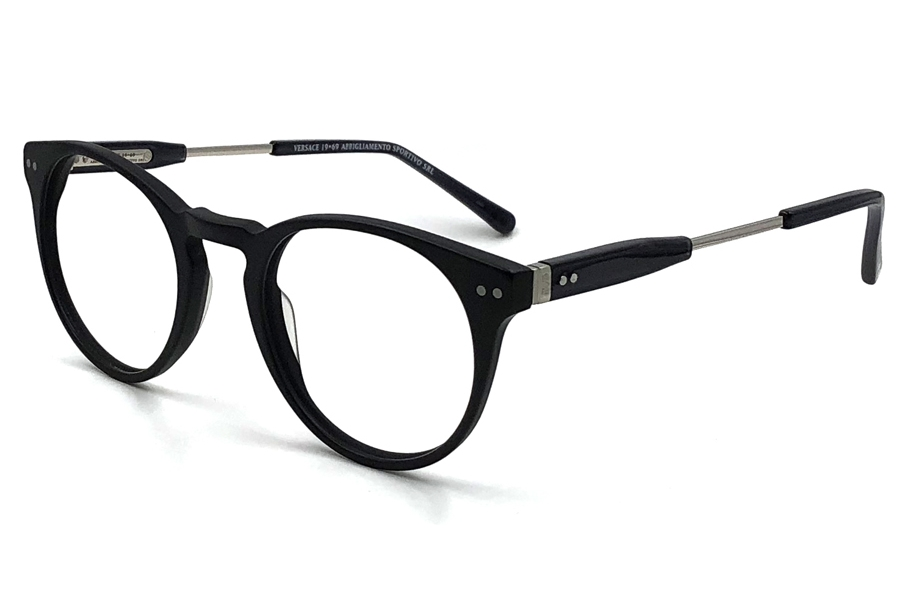 Versace 19-69 VM1712 Eyeglasses in C5 - Mat Black Gun