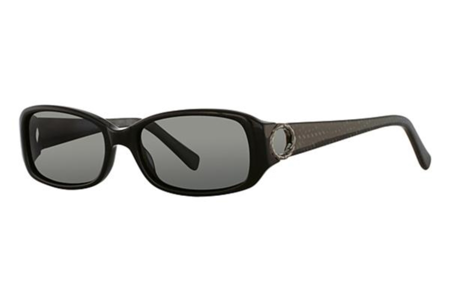 Vivian Morgan VM 8801 Sunglasses in Black/Fishnet