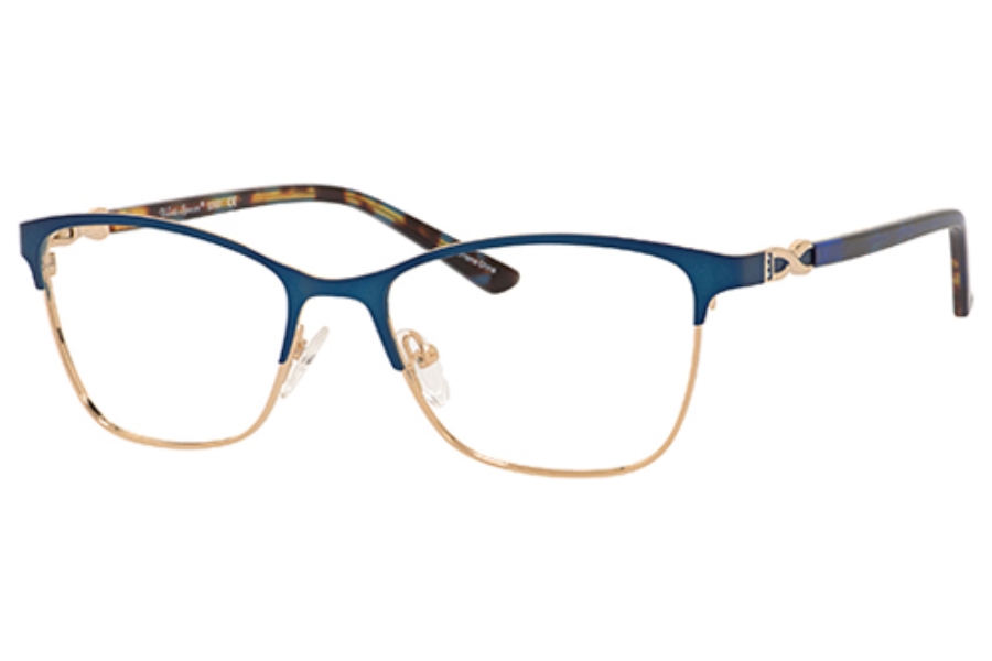 Valerie Spencer 9367 Eyeglasses in Blue/Gold