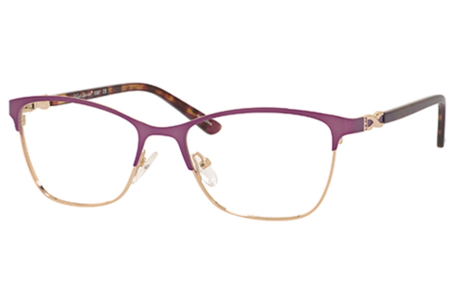 Valerie Spencer 9367 Eyeglasses in Purple/Gold