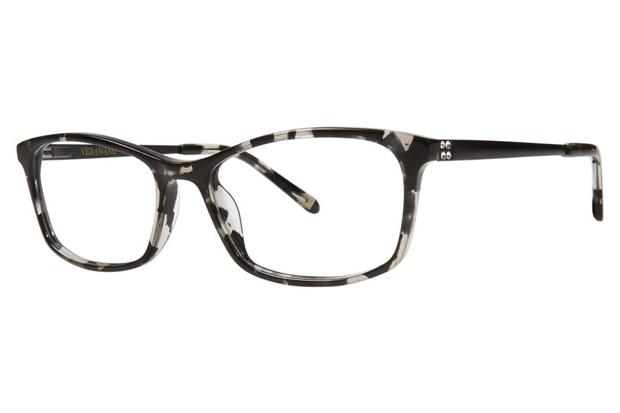 Vera Wang Brandi Eyeglasses in Black Marble