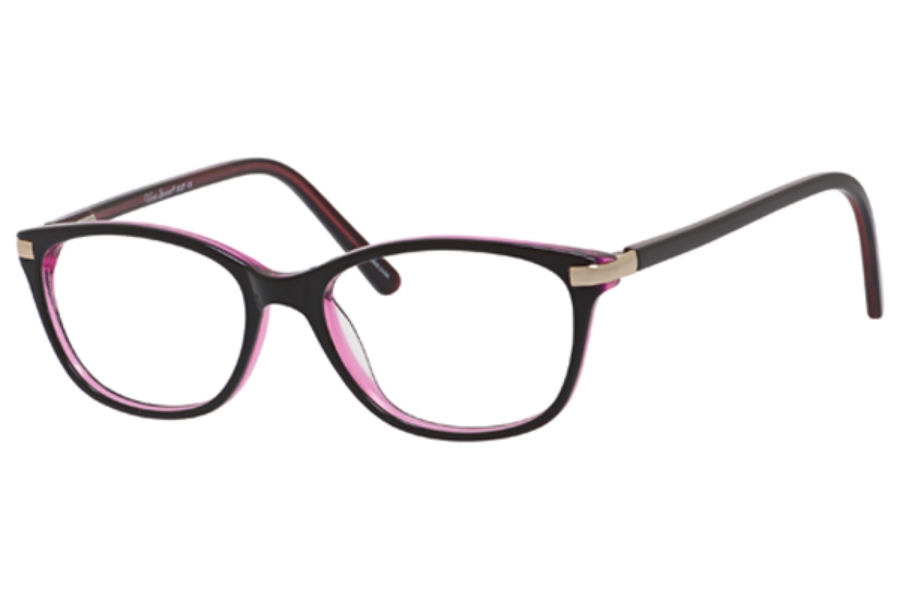 Valerie Spencer 9327 Eyeglasses in Black/Rose