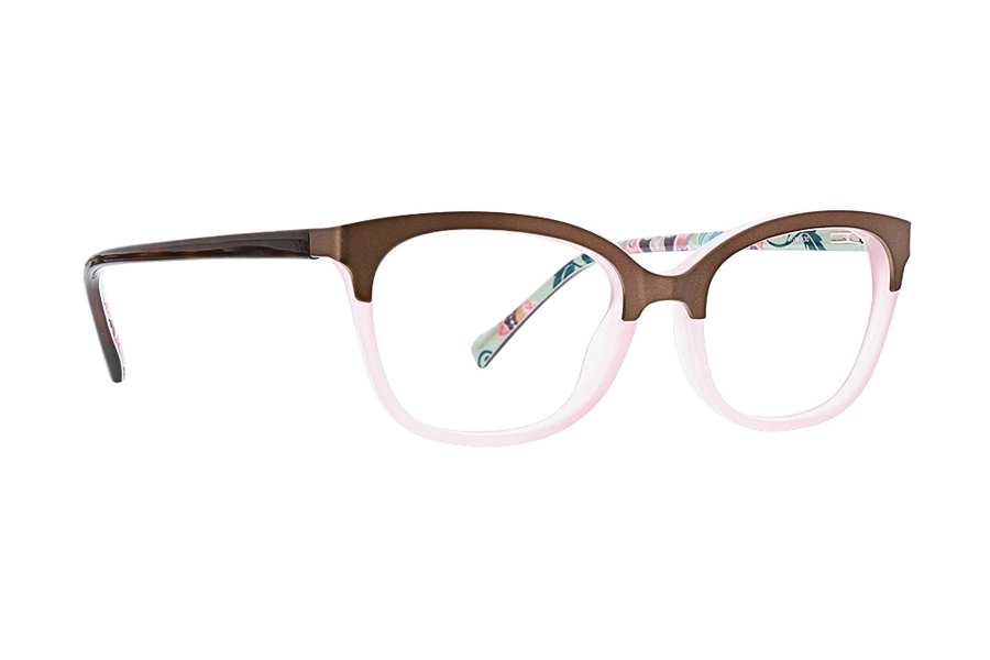 Vera Bradley Kids VB Kimi Eyeglasses in Mint Flowers