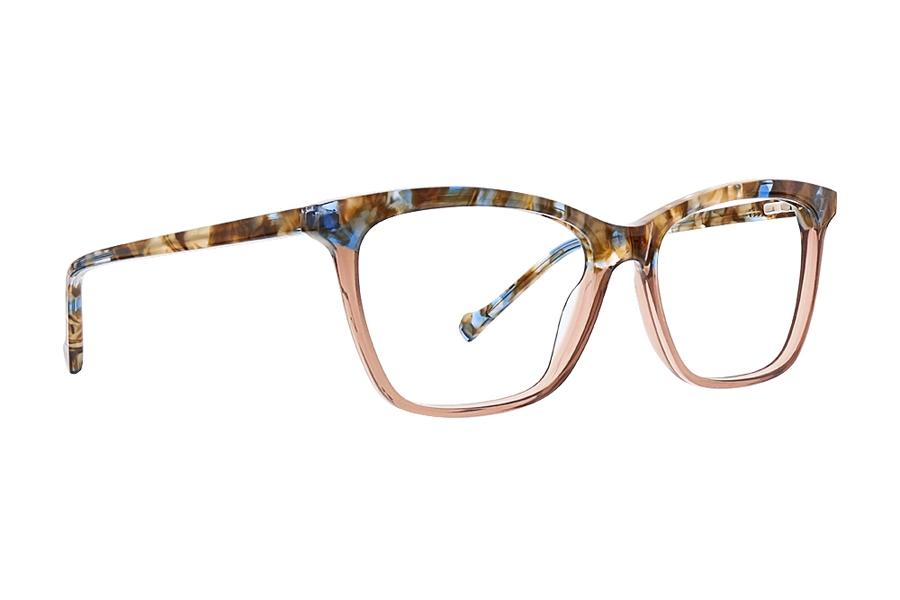 VERA WANG Eyeglasses DEA Red 52MM