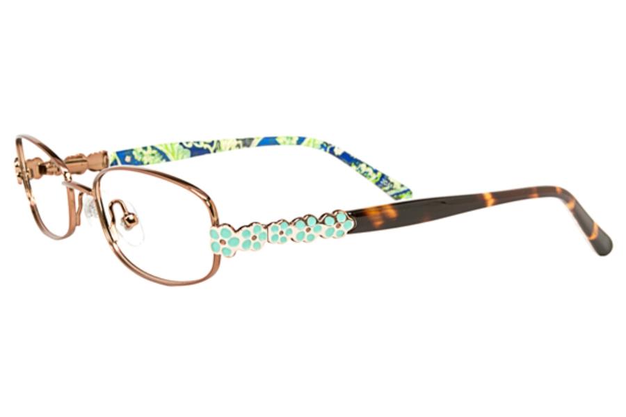 11aa3a887a9 Vera Bradley Kids VB Darla Eyeglasses in RMB Rhythm   Blues ...