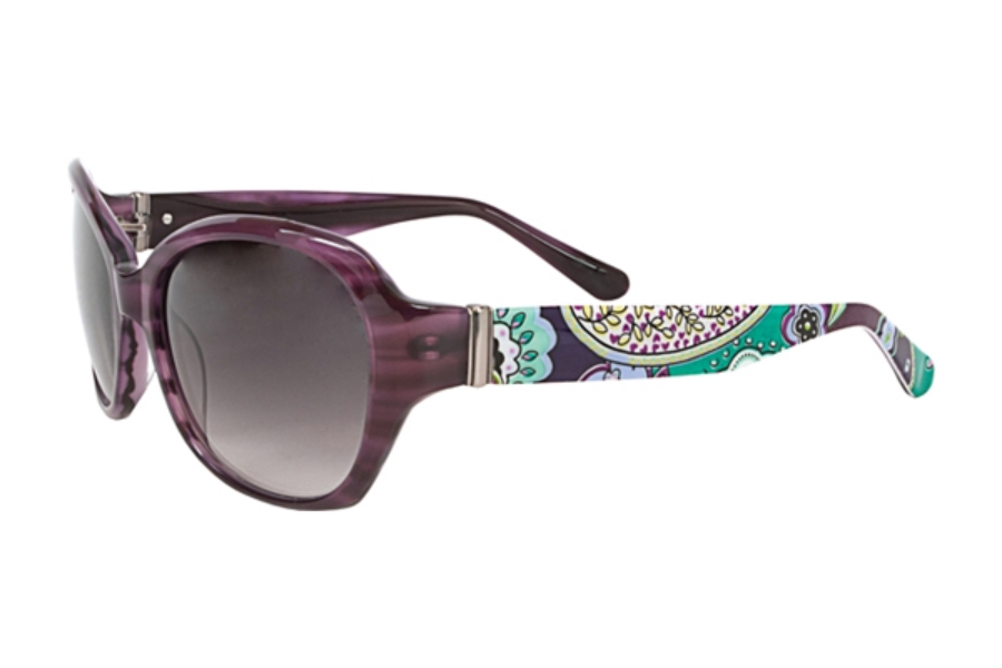 760a4a68746 ... Plum Crazy  Vera Bradley VB Anna Sunglasses in Heather ...