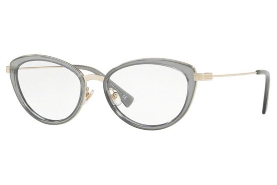 e4956bf2c2e59 Versace VE 1244 Eyeglasses in 1406 Pale Gold Orange Transp  Versace VE 1244  Eyeglasses in Versace VE 1244 Eyeglasses ...