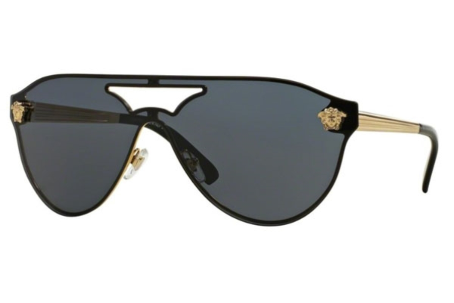 Versace VE 2161 Sunglasses in 100287 Gold / Gray