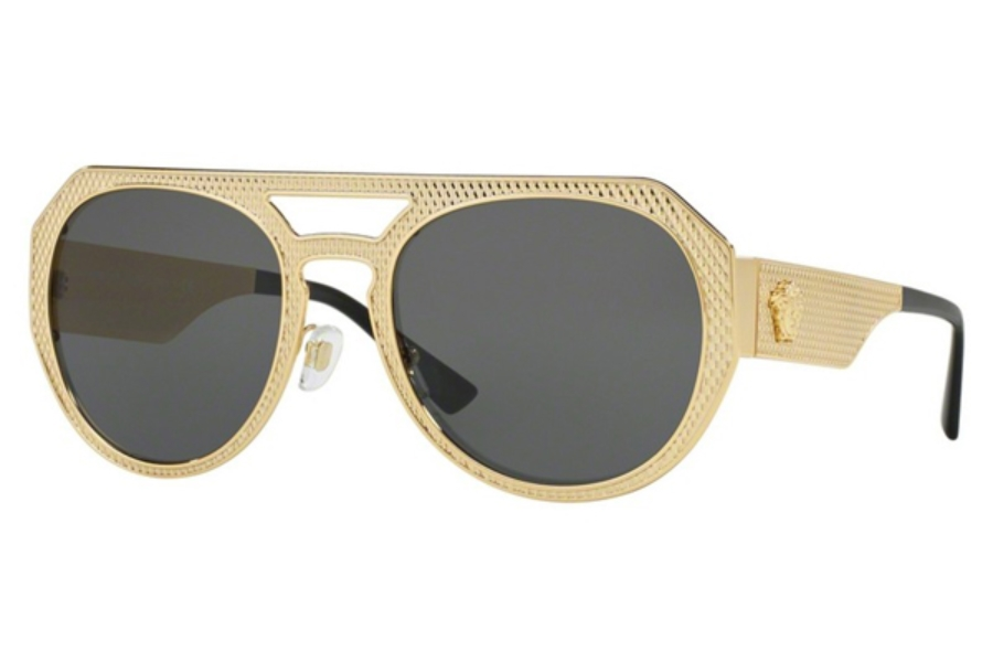 Versace VE 2175 Sunglasses in 100287 Gold / Grey