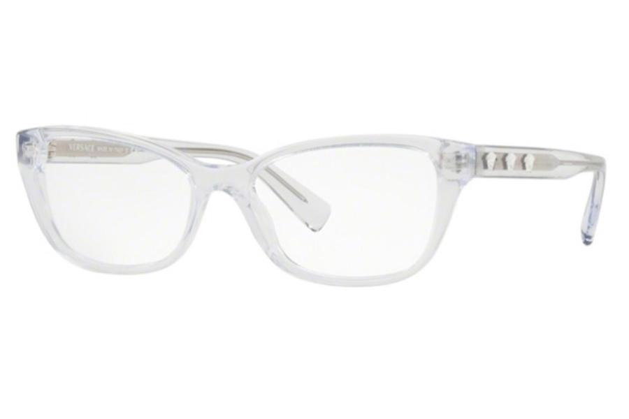 ba661019e7f ... 108 Dark Havana  Versace VE 3249 Eyeglasses in 148 Crystal (52 Eyesize  Only) ...