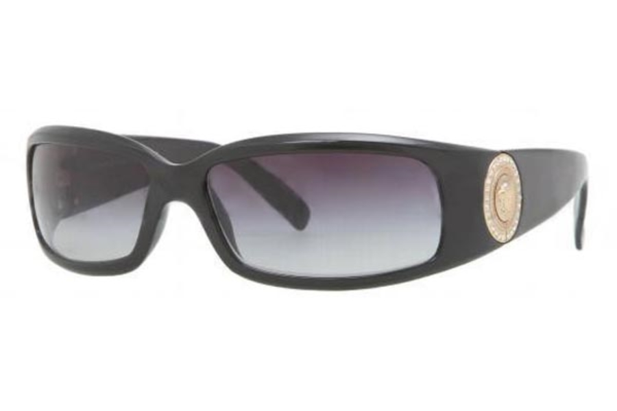6ce62126bf5a Versace VE 4044B Sunglasses in GB1 87 Shiny Black   Gray  Versace VE 4044B  Sunglasses in Versace VE 4044B Sunglasses ...