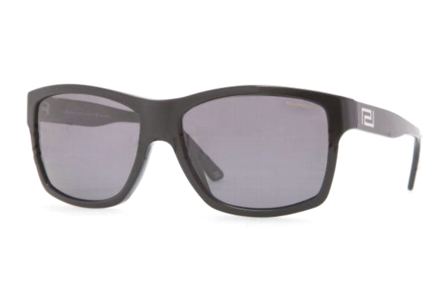 609d16453058 Versace VE 4216 Sunglasses in GB1 81 BLACK POLAR GRAY ...