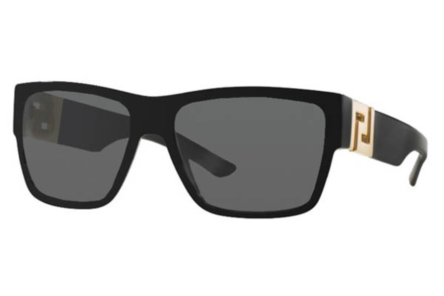 a3268fcf15 Versace VE 4296 Sunglasses in GB1 81 Black Polar Grey  Versace VE 4296  Sunglasses in Versace VE 4296 Sunglasses ...