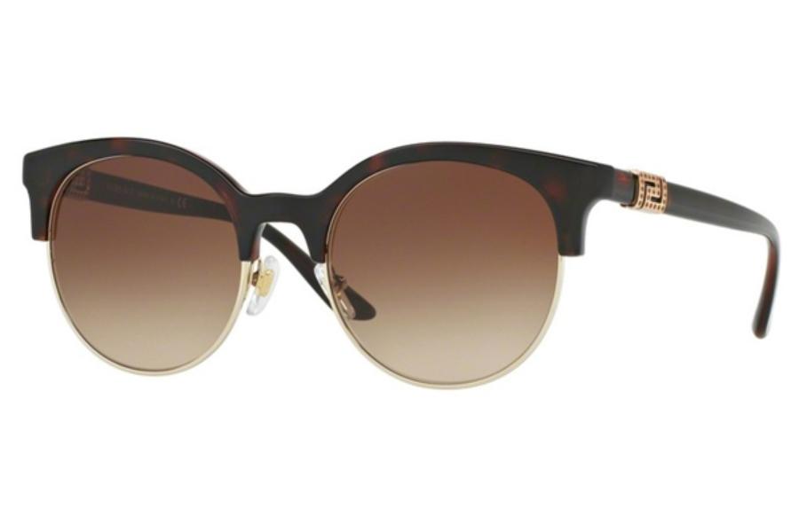 52276V *NEW* Authentic VERSACE Opal Azure Sunglasses VE4326B