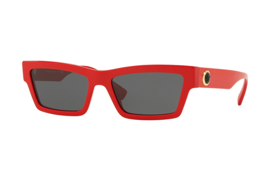 Versace VE 4362 Sunglasses in 506587 Red w/Grey