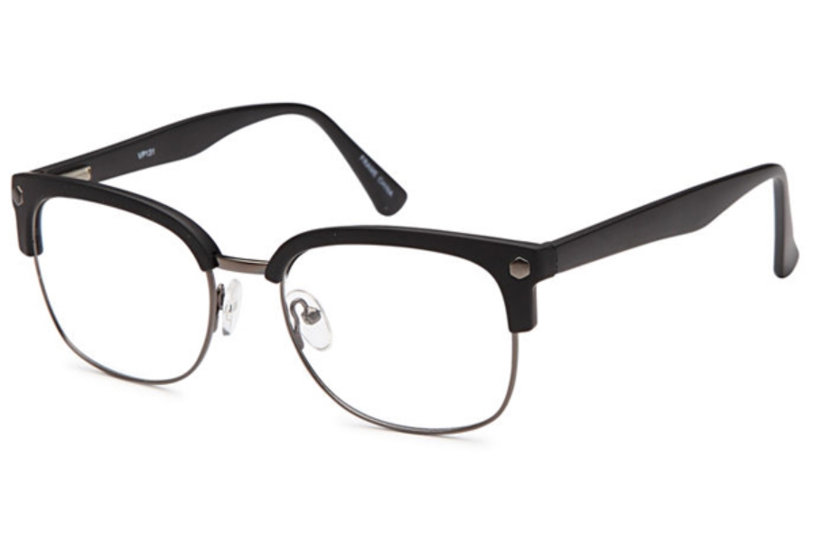 Versailles Palace VP 131 Eyeglasses in Gunmetal Black