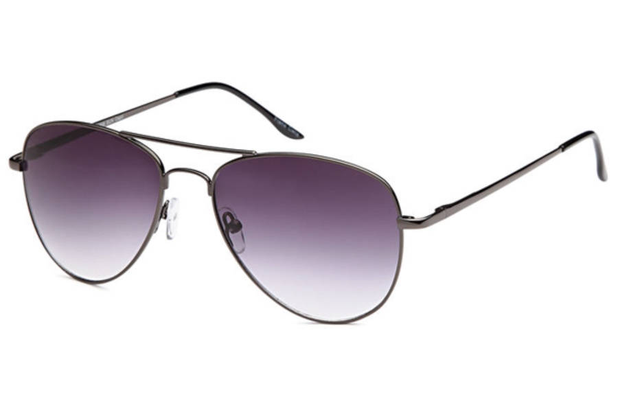 Versailles Palace VP 208SUN Sunglasses in Gunmetal