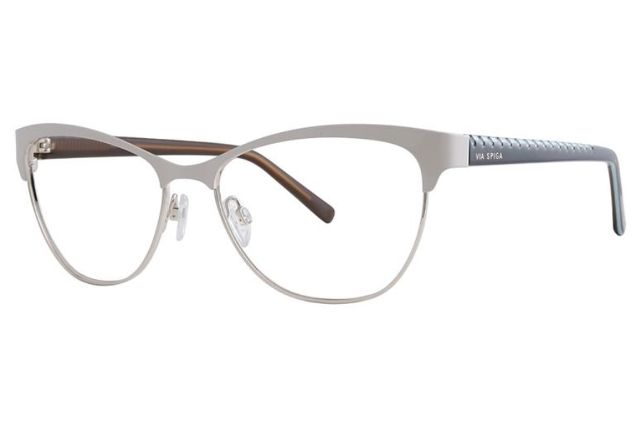 Via Spiga Via Spiga Regina Eyeglasses in 600 Beige/Gold
