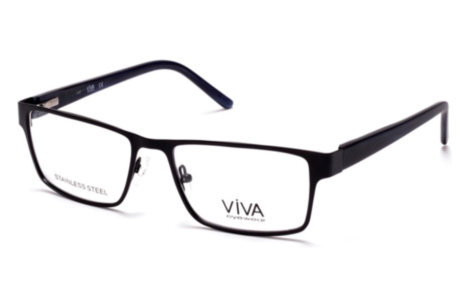 Viva VV4035 Eyeglasses in 002 - Matte Black