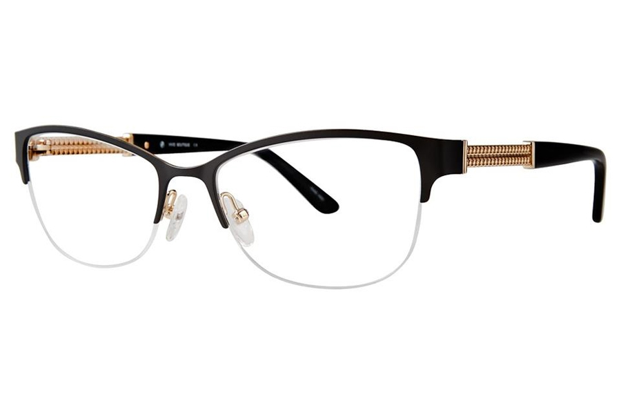 Vivid Boutique VIVID Boutique 5017 Eyeglasses in Matt Black/Gold
