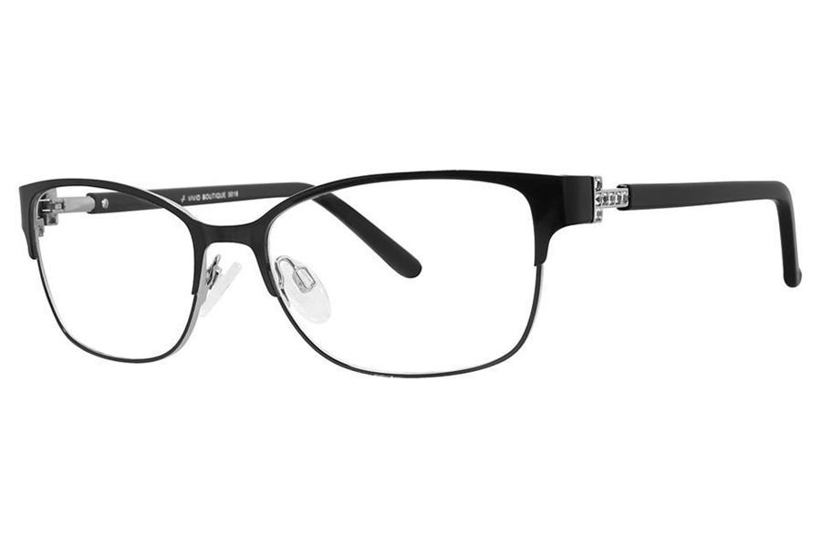 Vivid Boutique VIVID Boutique 5018 Eyeglasses in Dark Black