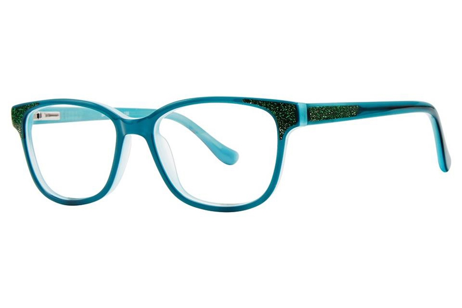Vivid Kids Vivid Kids 156 Eyeglasses in Green Sparkle