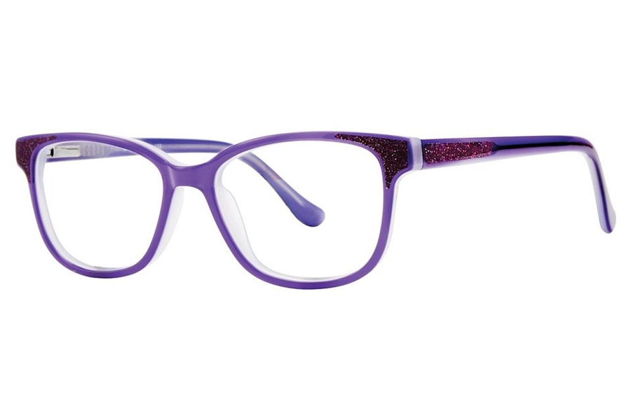 Vivid Kids Vivid Kids 156 Eyeglasses in Purple Sparkle