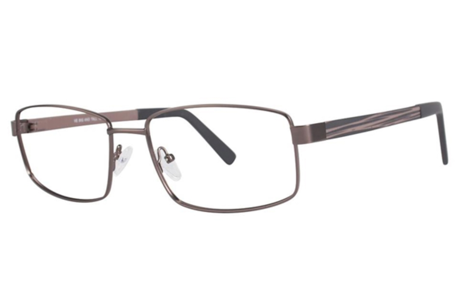 Big and Tall Big and Tall 12 Eyeglasses in Brown