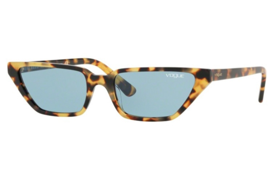 Vogue VO 5235S Sunglasses in 260580 Brown Yellow Tortoise / Blue
