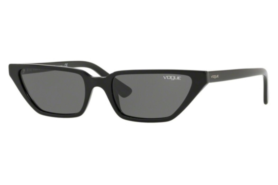 Vogue VO 5235S Sunglasses in W44/87 Black / Grey