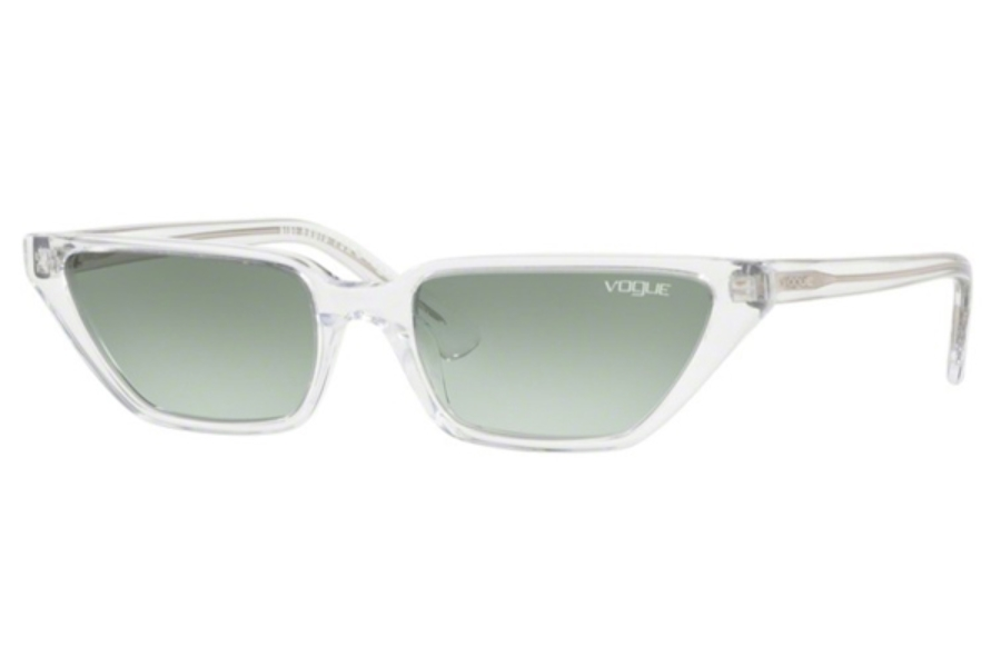 Vogue VO 5235S Sunglasses in W7458E Transparent / Green Gradient