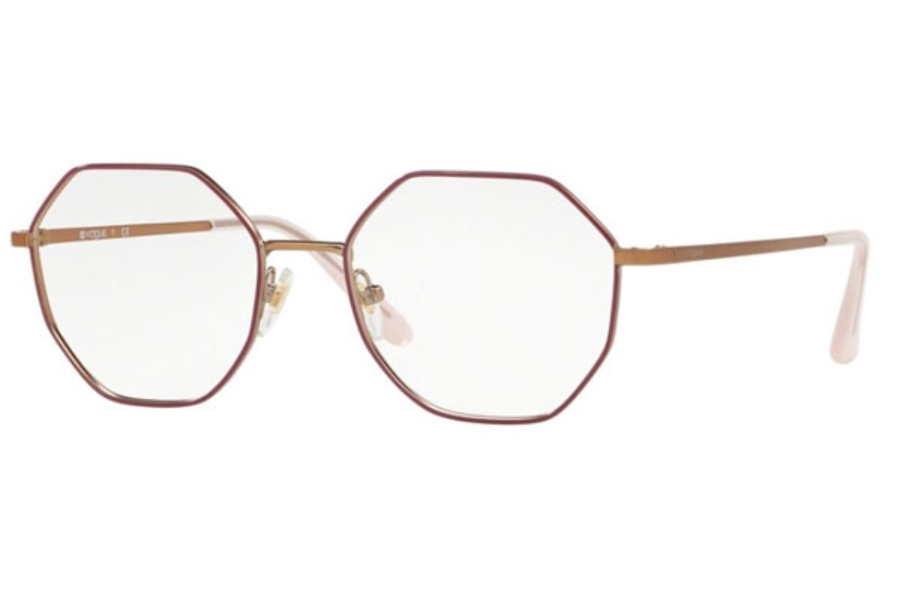 Vogue VO 4094 Eyeglasses in 5089 Fuxia/Matte Rose Gold