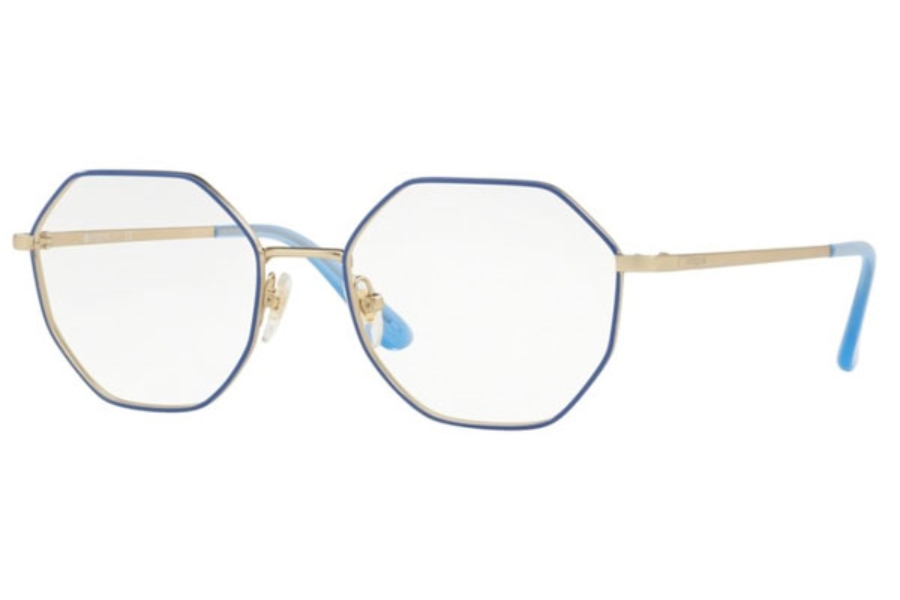 Vogue VO 4094 Eyeglasses in 5090 Bluette/Matte Pale Gold