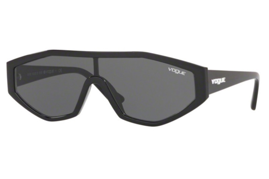 Vogue VO 5284S Sunglasses in W44/87 Black / Grey