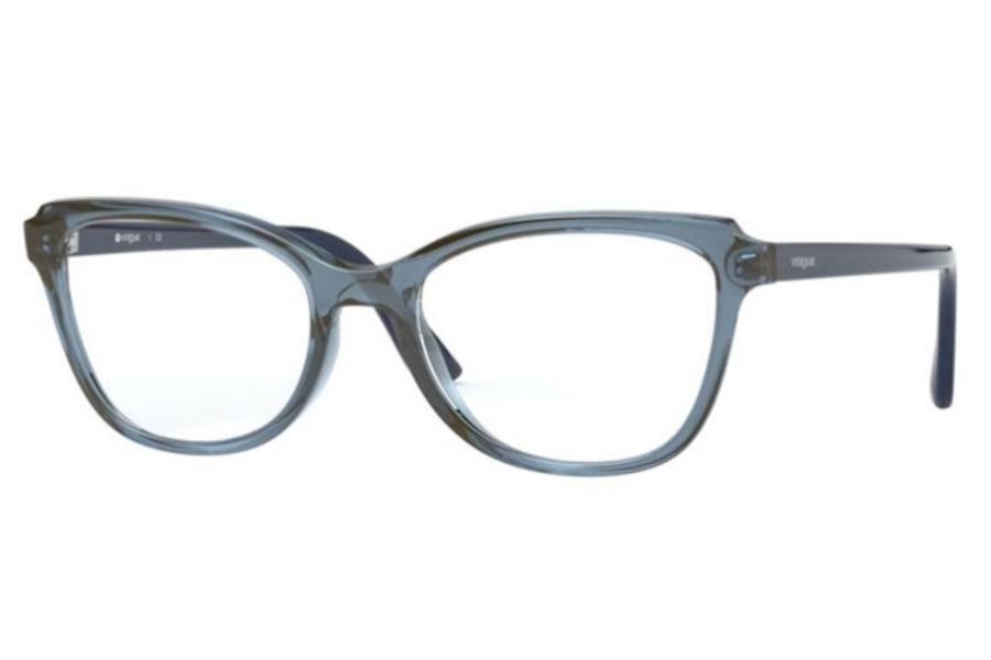 Vogue VO 5292 Eyeglasses in 2764 Transparent Blue/Blue